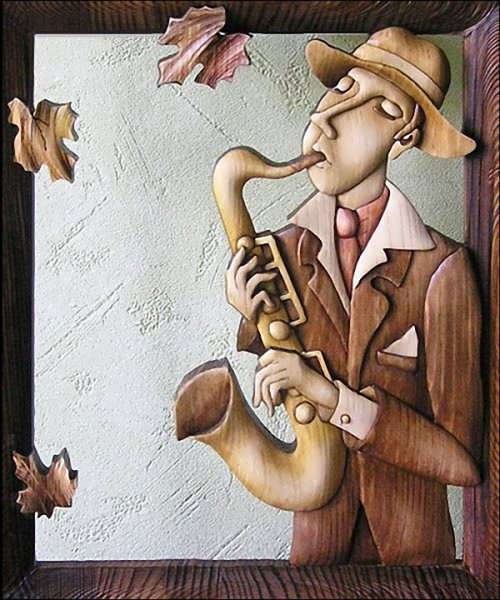 Anatoly Obelets. Street musician