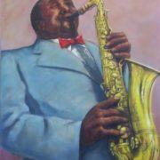 Edward Farber. Sax-solo