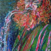 Natalia Malinina. Saxophonist. 2008