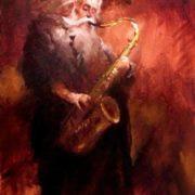 Valentin Rekunenko. Saxophonist. 2009