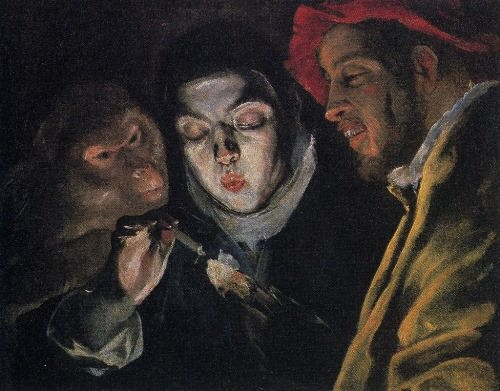Allegory of the Spanish proverb