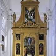 Altar paintings and images of saints for the church of Santo Domingo el Antiguo