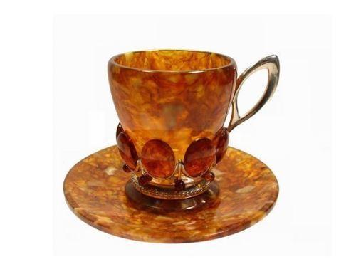 Amber Tea Set