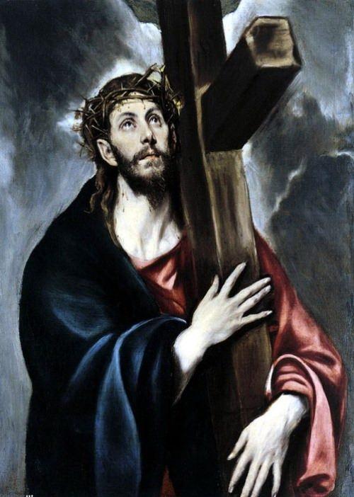 Christ Carrying the Cross, 1580s. Metropolitan Museum, New York