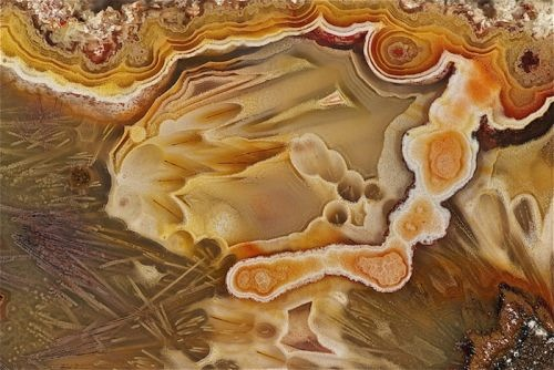 Colorful agate