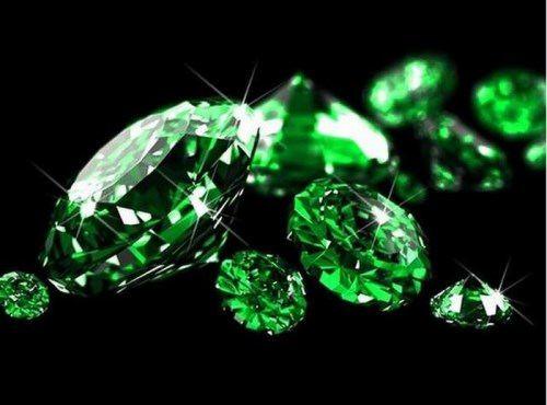 Emerald - green fire of life