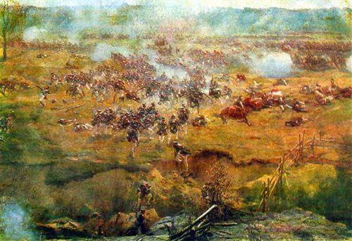 Fragment V. The bayonet battle