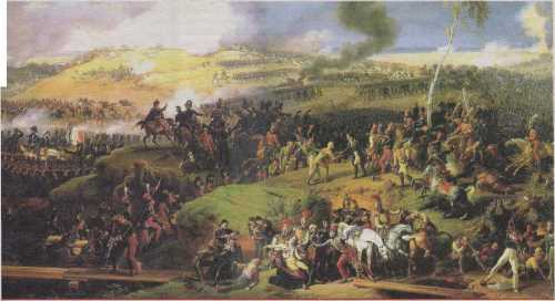 Lejeune. Battle for Moscow. September 7, 1812. 1822