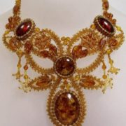 Lovely amber necklace