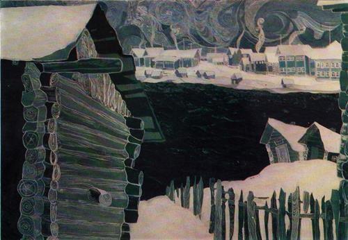 Ludvinsky landscape. 1963