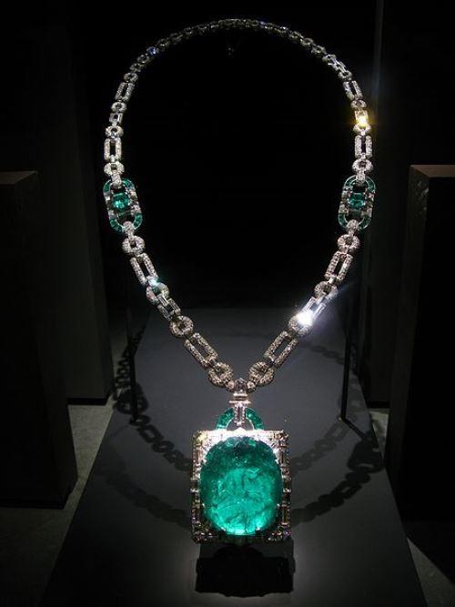 Mackay Emerald Necklace