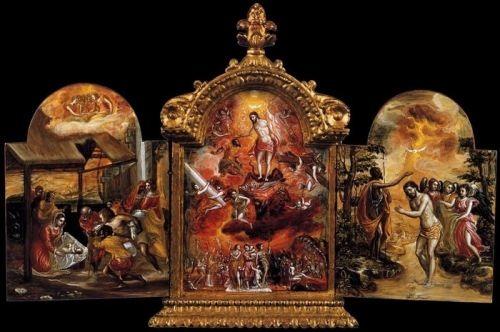 Modena triptych, 1567-68