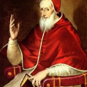 Portrait of Pius V