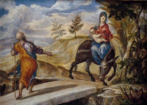 Return from Egypt, 1567