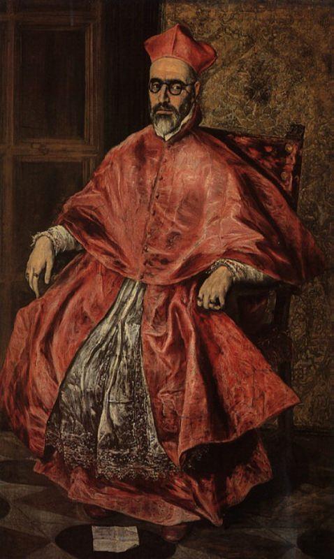 Ritratto del cardinale Fernando Nino de Guevara