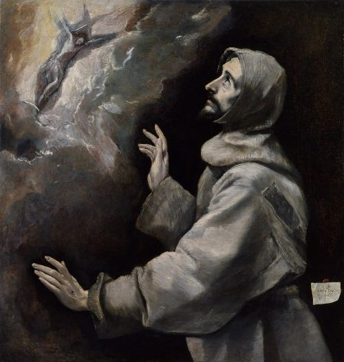 Stigmatization of St. Francis, 1585-1590, Baltimore, Walters Art Museum