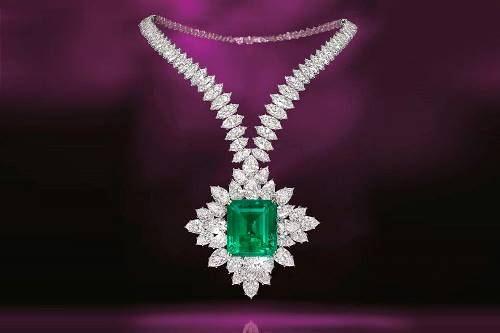 Stunning emerald
