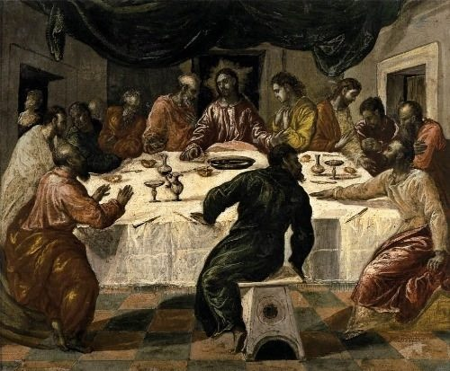 The Last Supper. Bologna National Picture Gallery