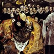 The burial of Count Orgas, 1586-1588
