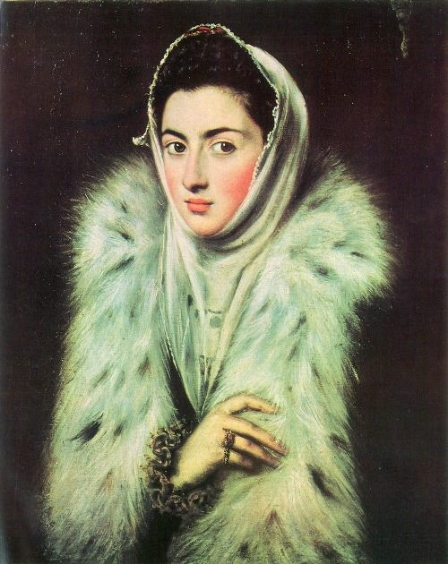 The lady in the furs, 1577-1580