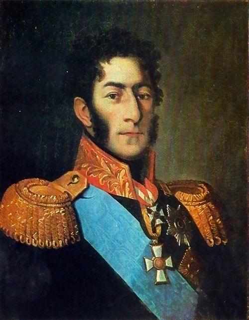 Unknown artist. Portrait of P.I. Bagration