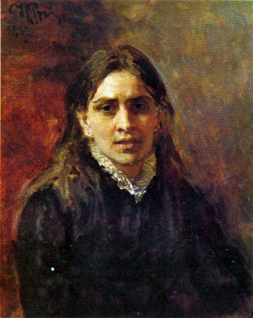 Actress P.A. Strepetova. 1881