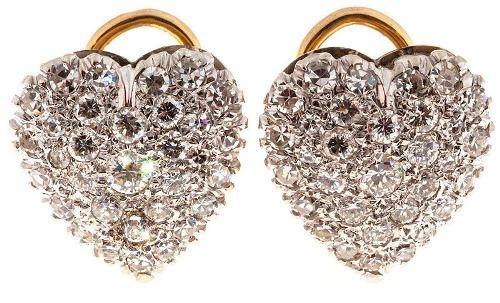 Amazing diamond earrings