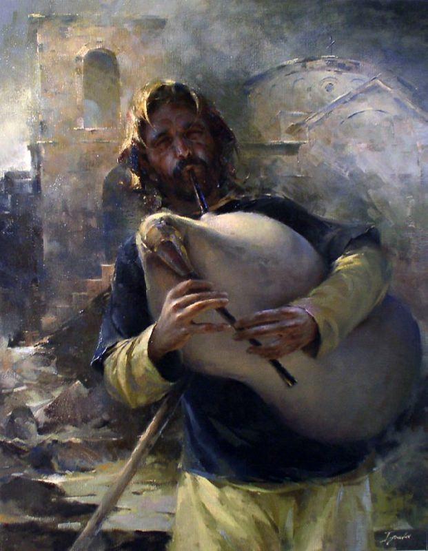 Bulgarian artist Ignat Ignatov. Piper