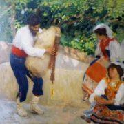 Camillo Innocenti, Canzone ciociara. 1903