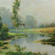 Foggy morning, 1897