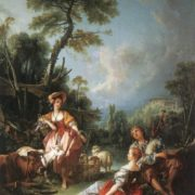 Francois Boucher. A Summer Pastoral, 1749. Wallace Collection, London