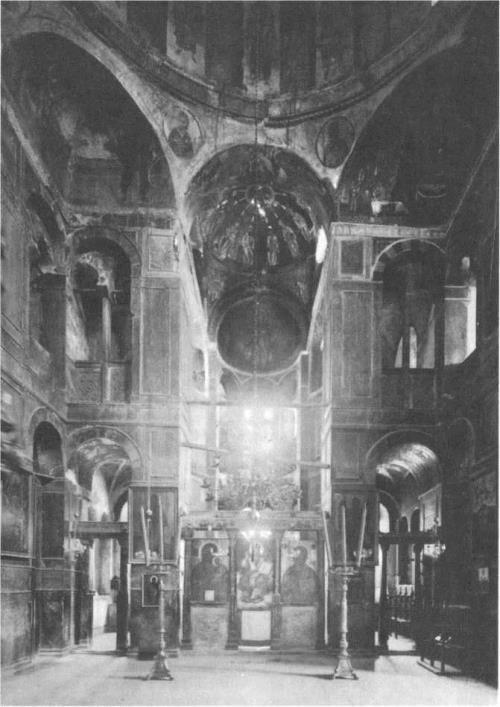 Hosios Lukas Monastery, 1020. The interior