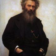 I. Kramskoy. Portrait of the artist Shishkin, 1880