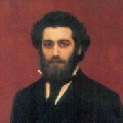 Ivan Kramskoy. Portrait of A.I. Kuindzhi. The end of the 1870s