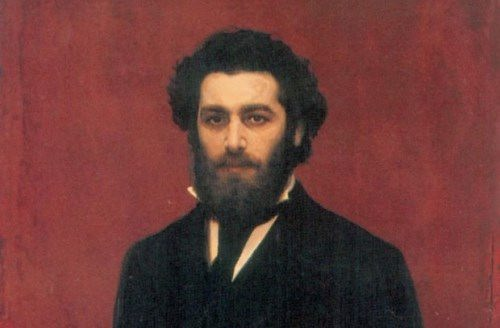 Ivan Kramskoy. Portrait of A.I. Kuindzhi. The end of the 1870s