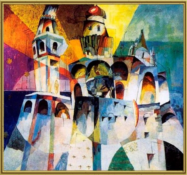 Ivan the Great belltower. 1915