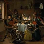 Jan Steen. Merry Family, 1668. Rijksmuseum, Amsterdam
