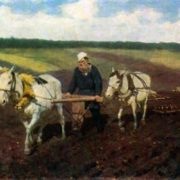 L.N. Tolstoy, 1887