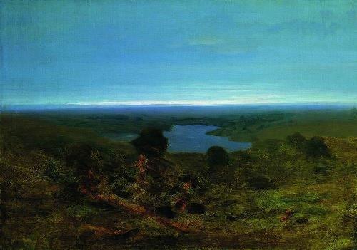 Lake. Evening