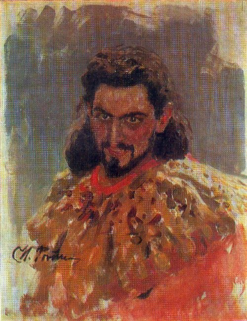 Mephistopheles (sketch from the painting of the artist S.E. Devyatkin). 1898