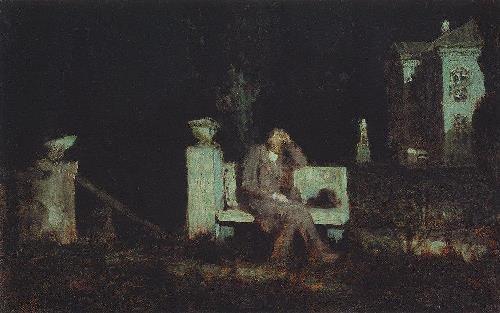 Moonlight night. 1876-1890