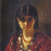 Mordovian girl, 1872