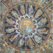 Mosaic of the dome of the Orthodox Baptistery