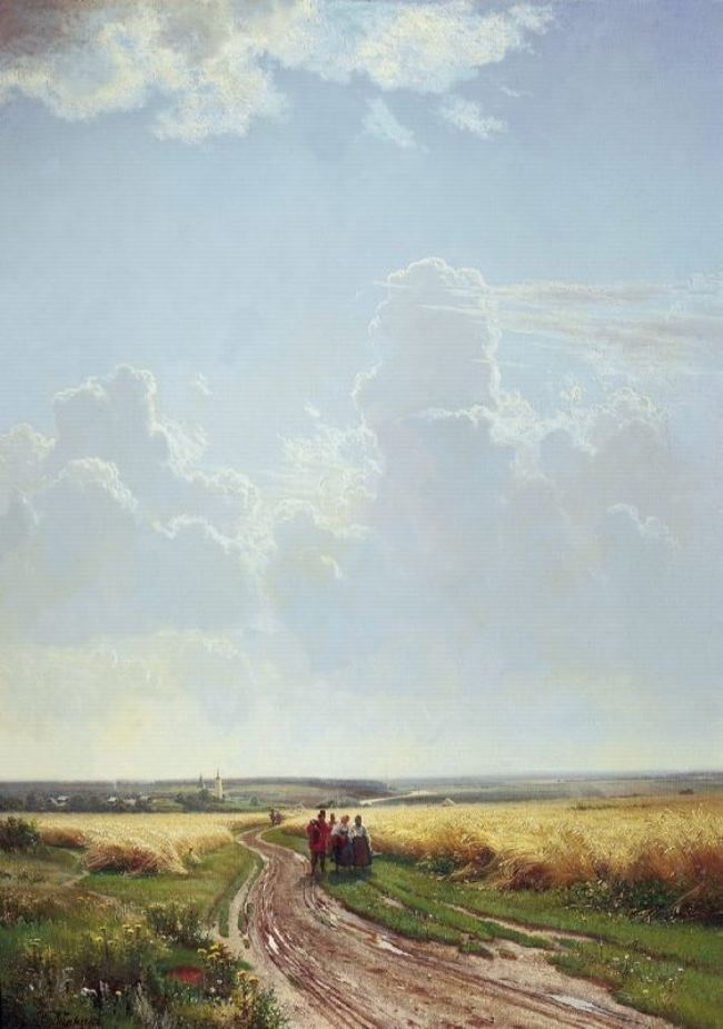 Noon. In the vicinity of Moscow, 1869