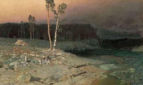 On the island of Valaam, 1873