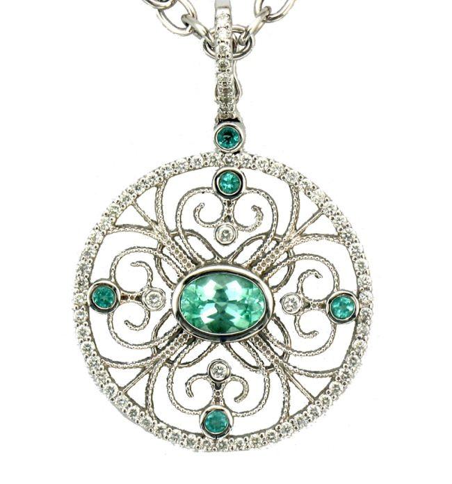 Paraiba Tourmaline Jewelry.