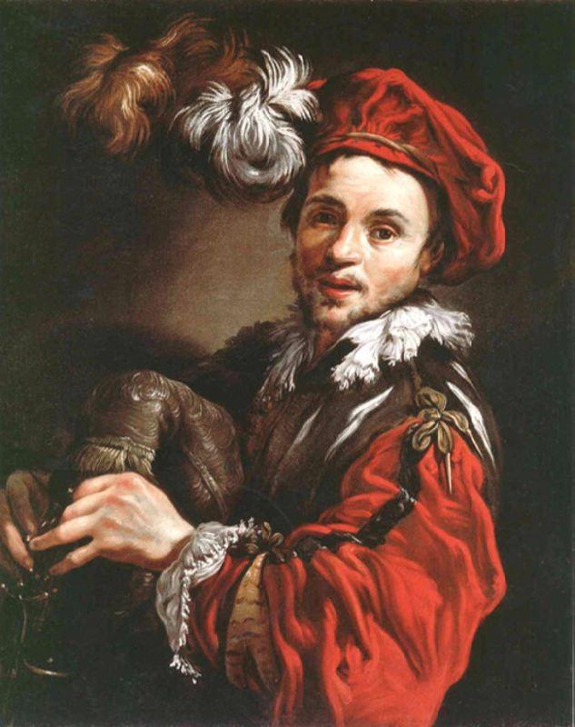 Portrait of Francois Langlois by Claude Vignon