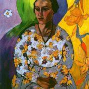 Portrait of N. Svedonskaya