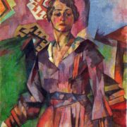 Portrait of an actress. 1919