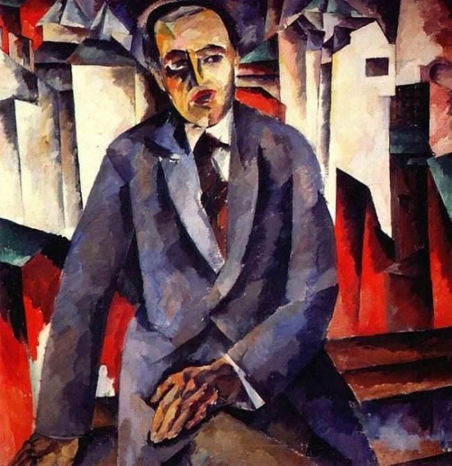 Portrait of the director Alexander Tairov